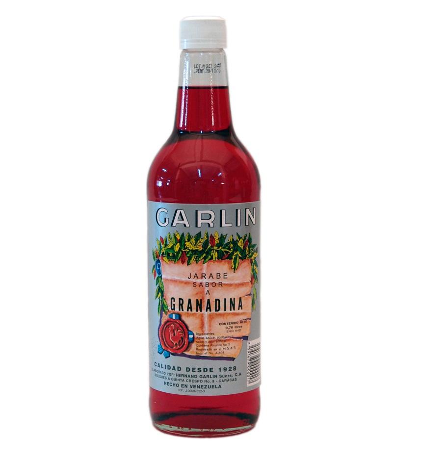 Jarabe-de-Granadina-Garlin Bebidas