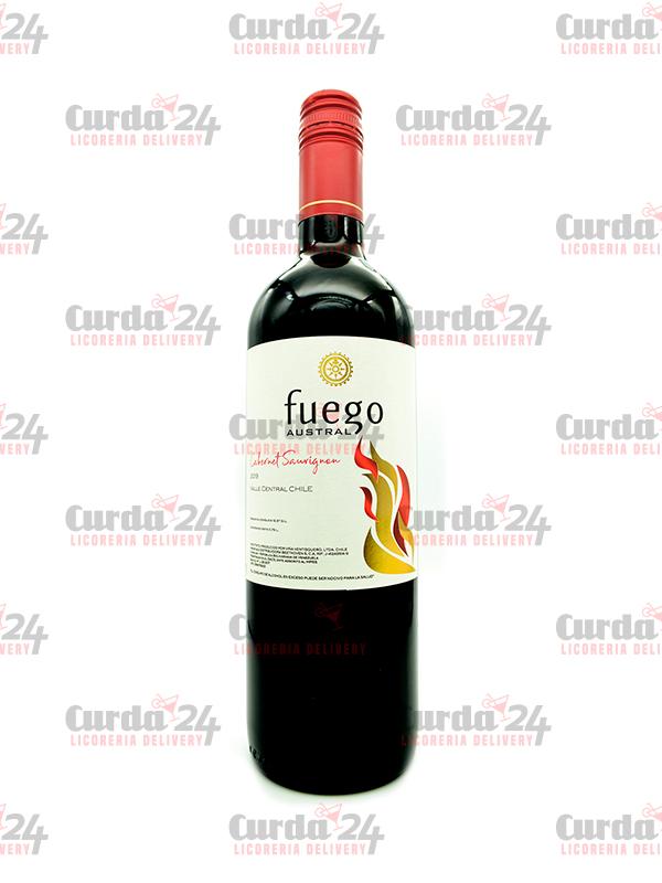 Vino-fuego-austral-cabernet-sauvignon Curda 24 Express - Licoreria delivery en Caracas