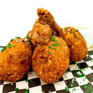 Chupetas de pollo